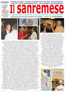 Mostra e Premiaz. x Oscar Nò al BULLISMO del 2 e 3 Maggio pv. di SREMO