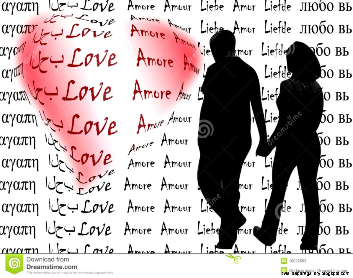 Love Words Stock Photos   Image 10022693