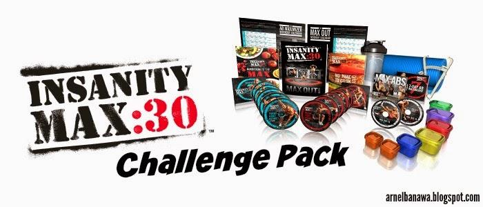Insanity MAX 30 Challenge Pack