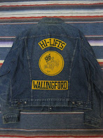画像①              OLD CAR CLUB                 DENIM JACKET