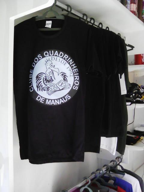 Adquira sua camiseta do C.Q.M.