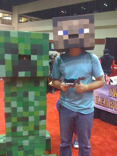 Cosplay Minecraft