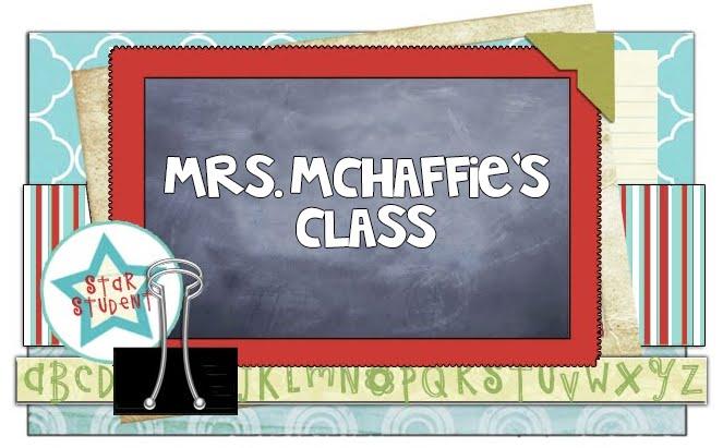 Mrs. McHaffie's Class