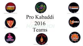 Pro Kabaddi Teams
