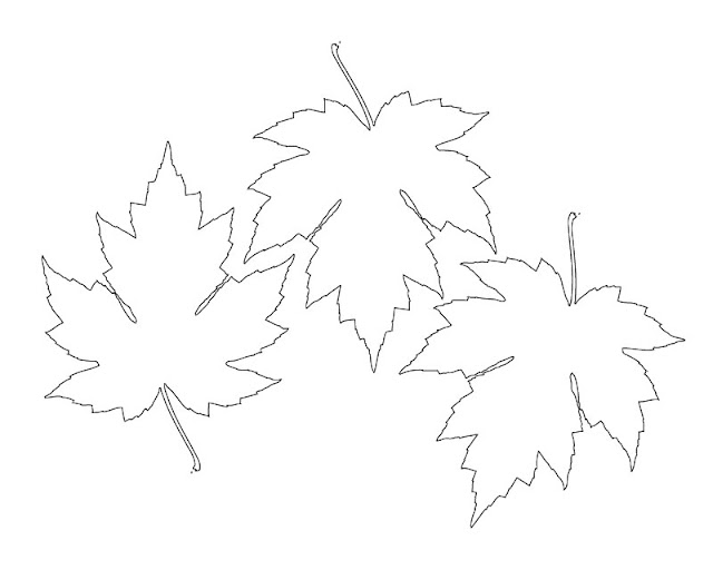 Selective image pertaining to maple leaf printable