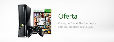 Consigue gratis Grand Theft Auto V comprando una nueva Xbox 360