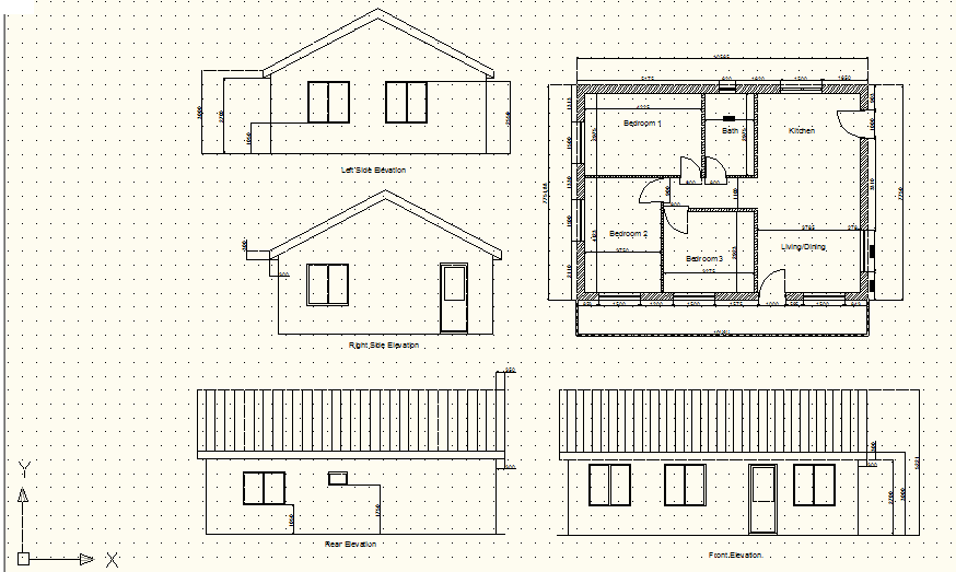 Architecture Portfolio 1085372642 Drawings Done By