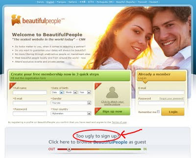 BeautifulPeople.com