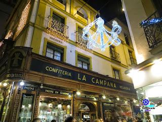Sevilla - Alumbrado navideño 2014 - La Campana