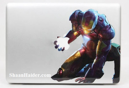 Iron Man MacBook Stickers and Decals