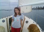 My Daughter Sailing with Me!