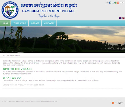 Cambodia Retirement Village – Together in the village