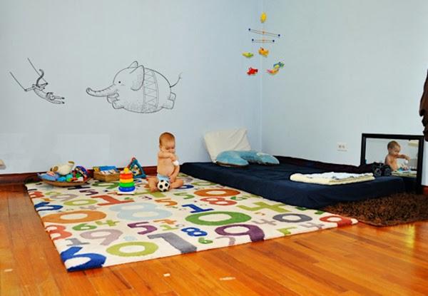 Quarto De Bebe Estilo Montessoriano