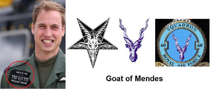 Image result for prince william goat patch flight suit