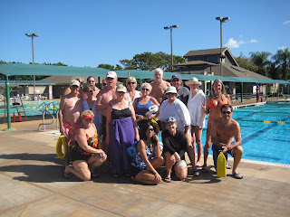 Deep Water Aerobics at Kihei Aquatic Center