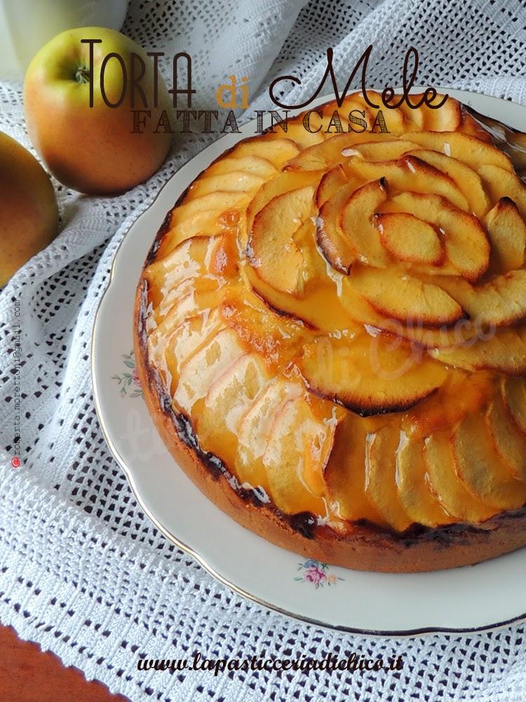 torta di mele fatta in casa