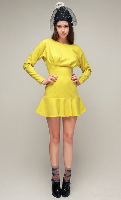 Glam Pintuck Dress by Storets