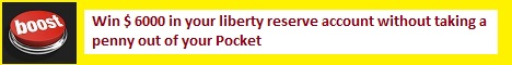 Boost your Liberty reserve account  without  spending  anything  from  your  pocket