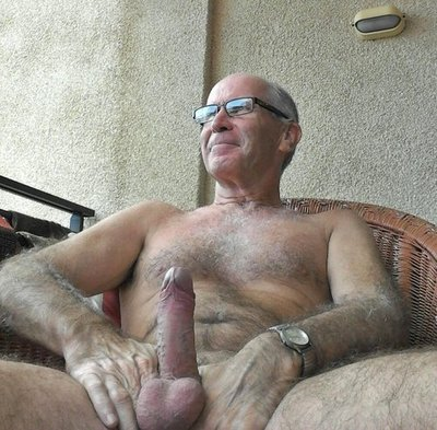 older gay dad - old naked silverdaddies with cock
