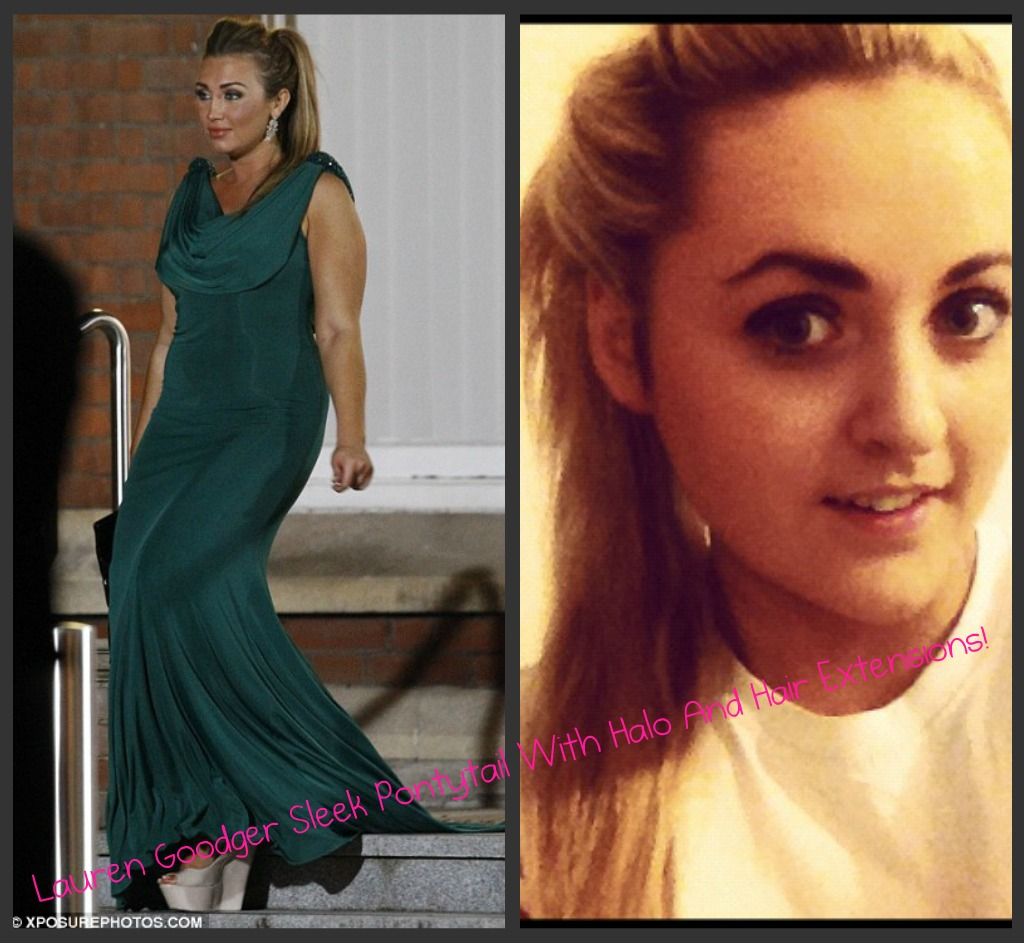 Halo And Hair Towie Tutorial Wednesday Lauren Goodgers Amazing