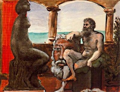 L'escultor i la seva estàtua (Pablo Picasso)