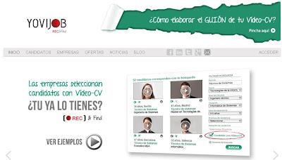 Yovijob - Crea tu vídeo currículum