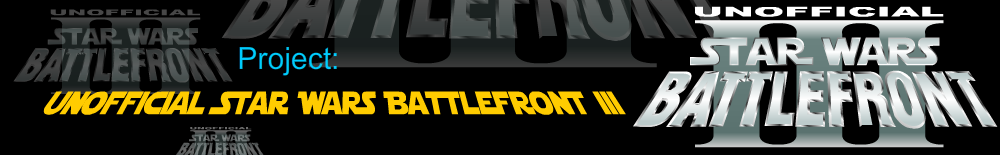 Project: Unofficial Star Wars Battlefront III