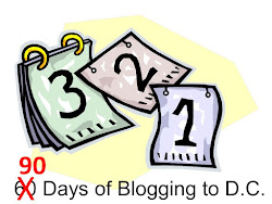 90 days of blogging to DC