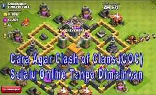 membuat Clash of Clans Online Terus | andromin