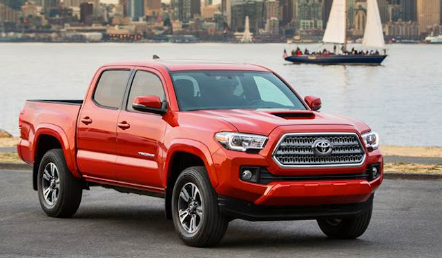 2017 Toyota Tacoma Pickup Space