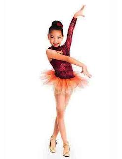 Desain Model Baju Balet Anak