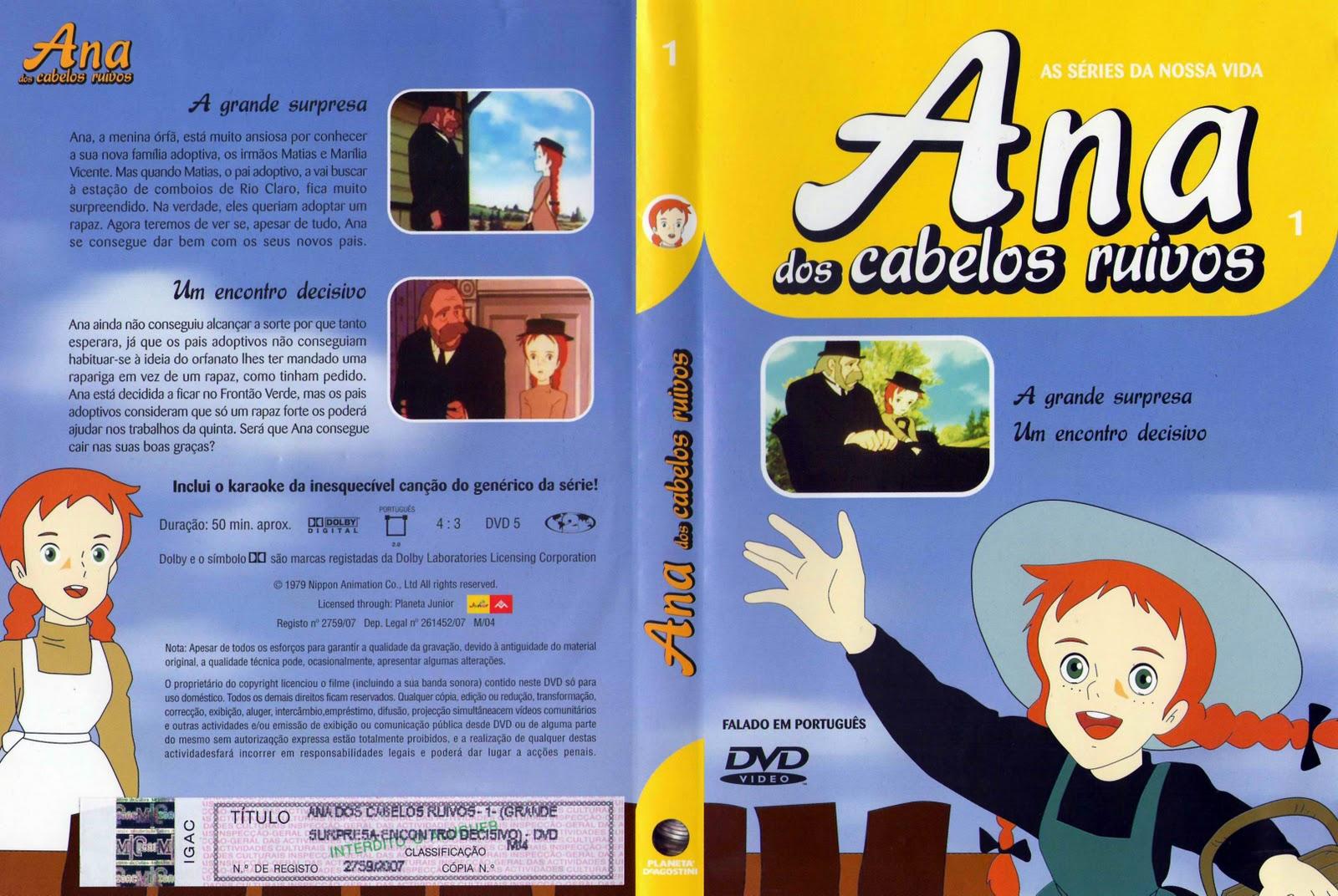 Ana dos Cabelos Ruivos Vol.1 A 25  PT-PT Ana+Dos+Cabelos+Ruivos+-+Vol+01