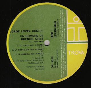 Jorge Lopez Ruiz: Un hombre de Buenos Aires (1978)