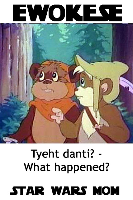 Star Wars Speaking Ewokese Lesson 4