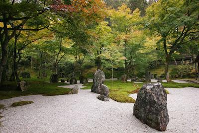 los principos del estilo japones de jardines que incluye