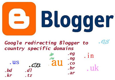 Google is Redirecting My Blogger Blog