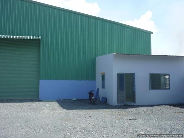 Cho thuê gấp kho xưởng 2600m2 mới xây ở quận 12