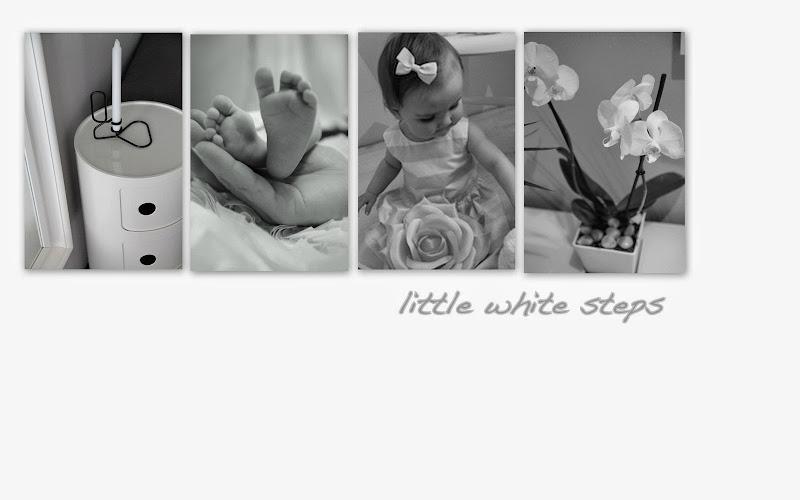 little white steps