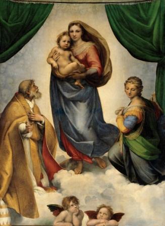 foto: La Madonna Sixtina Rafael Sanzio