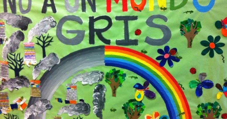 Aprendemos desde infantil a respetar y cuidar el medio for Definicion periodico mural