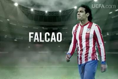 Falcao, jugador del Atlético de Madrid