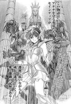 Saintia Sho nuevo manga Saint Seiya