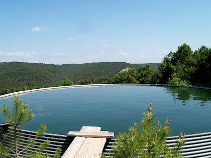 Dipòsit d'aigua a la Baga de La Vall