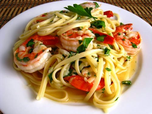 The Costco Quest: Mediterranean Shrimp Scampi