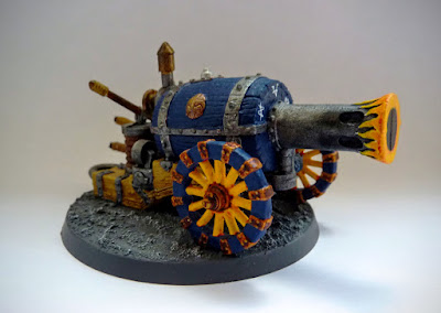 Dwarf Flame Cannon for Warhammer Fantasy Battle