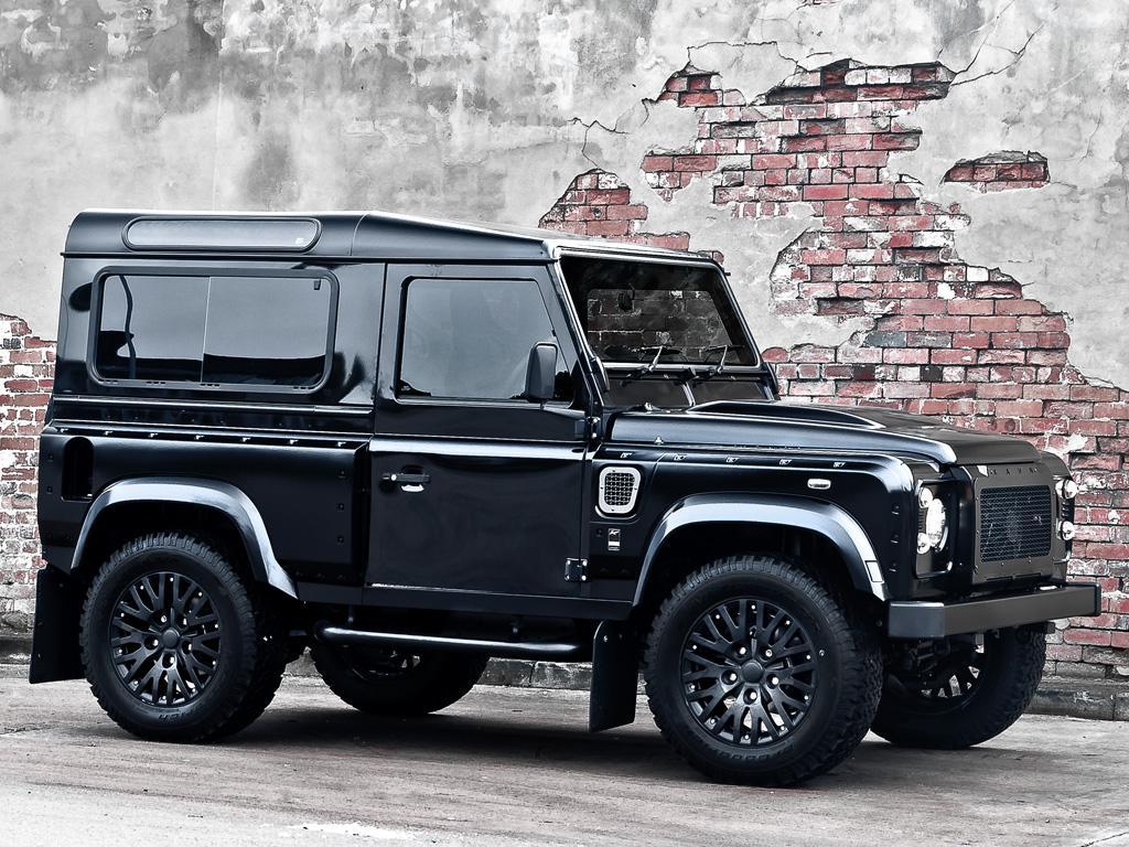 Kahn Land Rover Defender Harris Tweed Edition