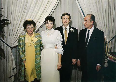 Liza Minnelli Judy Garland Vincente And Peter Allen At The Weddding 1967