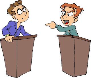 istilah debat