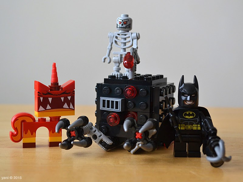 lego: batman and super angry kitty attack - the finished build