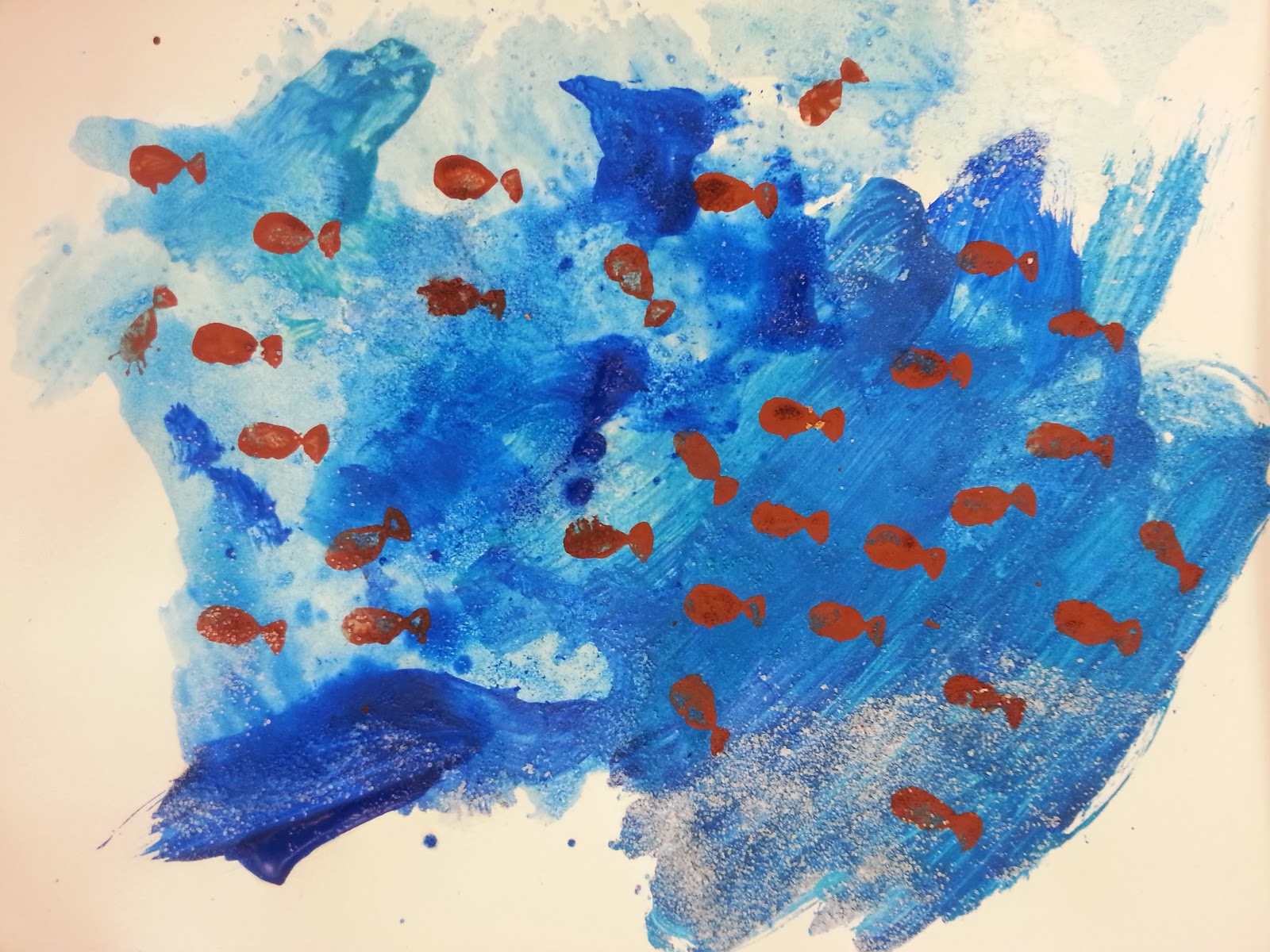 Kids Painted Fish Choices for Children: ...